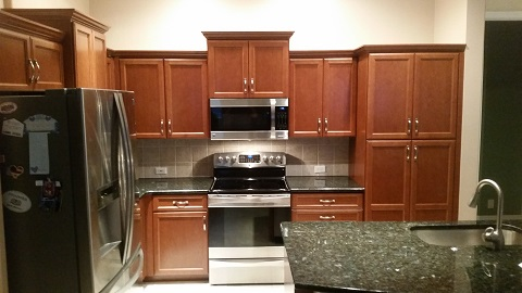 Cabinet Refacing Pictures Before & After | Kitchen Facelifts